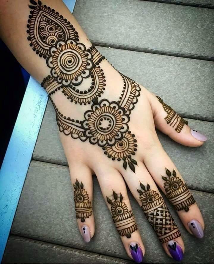 Beautifull Simple Henna Wedding Henna Designs Hand Mehndi