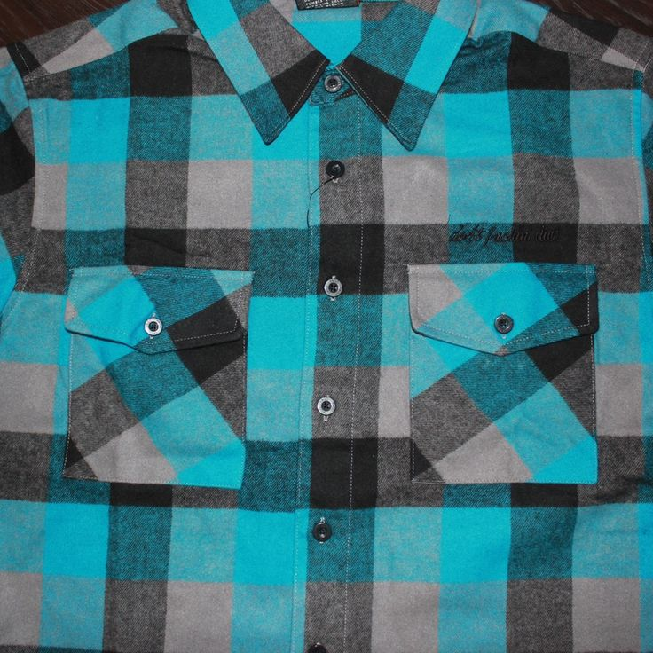 Image of DFD Ocean Blue Flannel