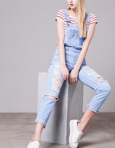 JUMPSUITS for woman at Stradivarius online. Visit now and discover the JUMPSUITS we have for you   Free returns.