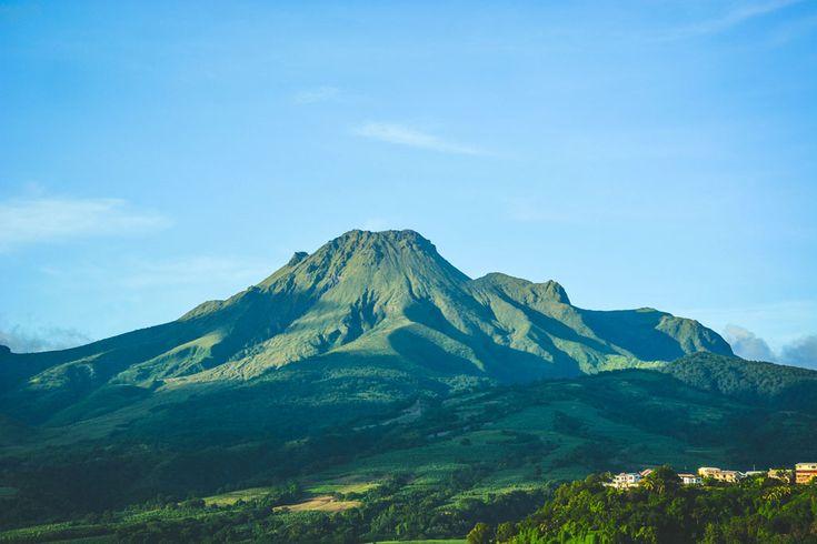 La Montagne Pelée en Martinique (volcan)