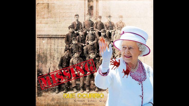 La reina Isabel de Inglaterra y los niños desaparecidos