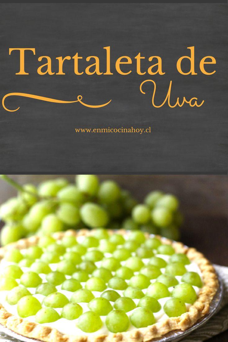 Tartaleta de uva o Kuchen de uva