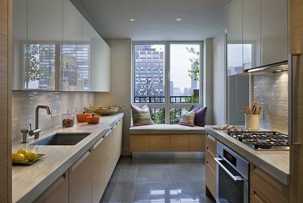 können Sie schlau die kleine Küche einrichten  10 nützliche Ideen