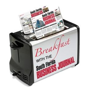 U.S. Gas & Electric attended the South Florida Business Journal Breakfast - February 7, 2013
