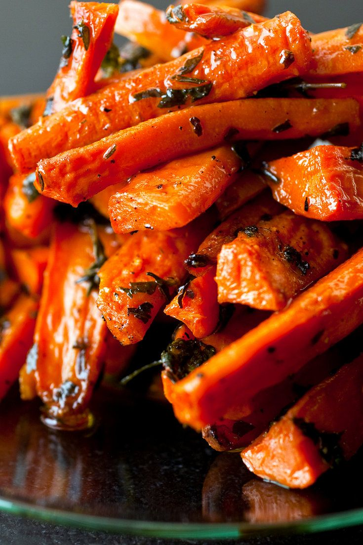 NYT Cooking: This dish is inspired by a roasted carrot antipasto I recently sampled at Oliveto Cafe in Oakland, Calif. The roasted carrots were tossed with lots of parsley and thyme, and I loved the way those bitter herbs offset the sweetness of the carrots.