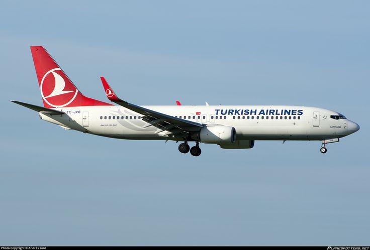 TC-JVB Turkish Airlines Boeing 737-8F2(WL)