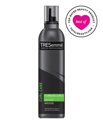 Best Curly Hair Product No. 17: Tresemmé Flawless Curls Extra Hold Mousse, $5.69