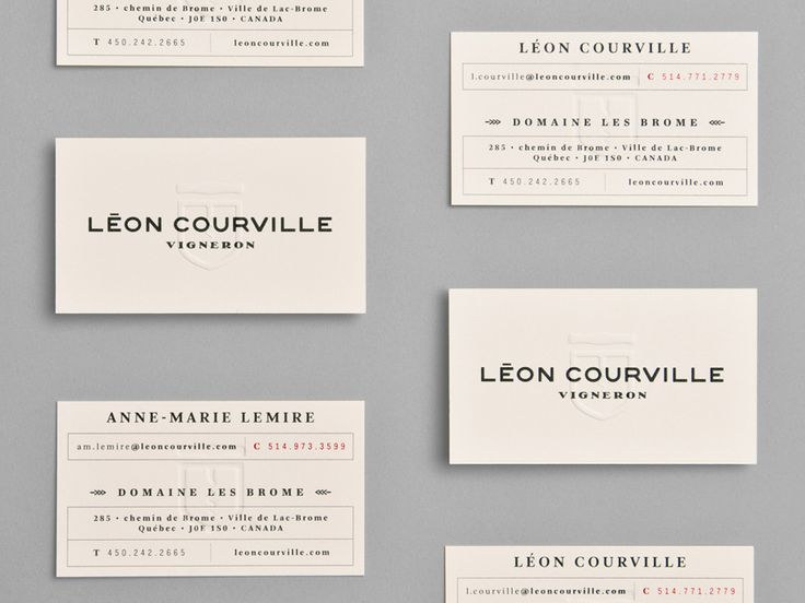 294 best business cards images on pinterest brand identity leon courville lg2 reheart Images