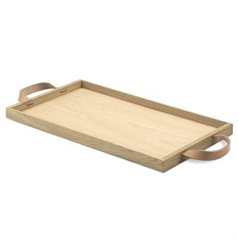The Norr tray from Skagerrak $91 can be used as an everyday tray or for the special occasions you serve your loved one breakfast in bed! The Norr collection by designer Ditte Buus Nielsen is characterised by the beloved Scandinavian design, which holds quality material as the focus. This tray is made from oak and has a leather handle, creating a wonderful weathered effect over time.