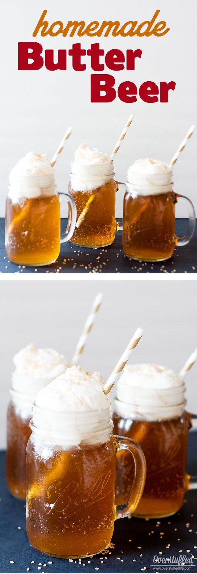 Harry Potter Butterbeer Recipe ❤︎