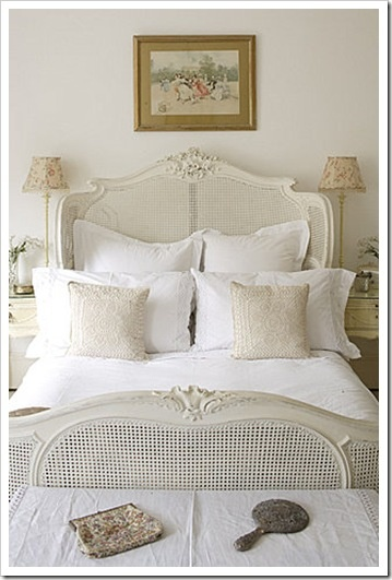 gorgeous bedroom from Shabby & Charme