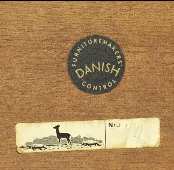 Unknown Danish Furniture Makers Mark Furnituremaker S Tags Labels Pinterest Danish