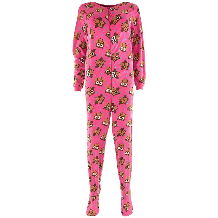Pink #Owl Fleece Footed Pajamas for Women Red #Pajamas - #Pajamas for Women #gifts http://www.planetgoldilocks.com/gifts.htm Hot Pink Sparkle Hello Kitty Footed Pajamas for Women #gifts #christmasgifts #clothing #womensfashions  #clothing