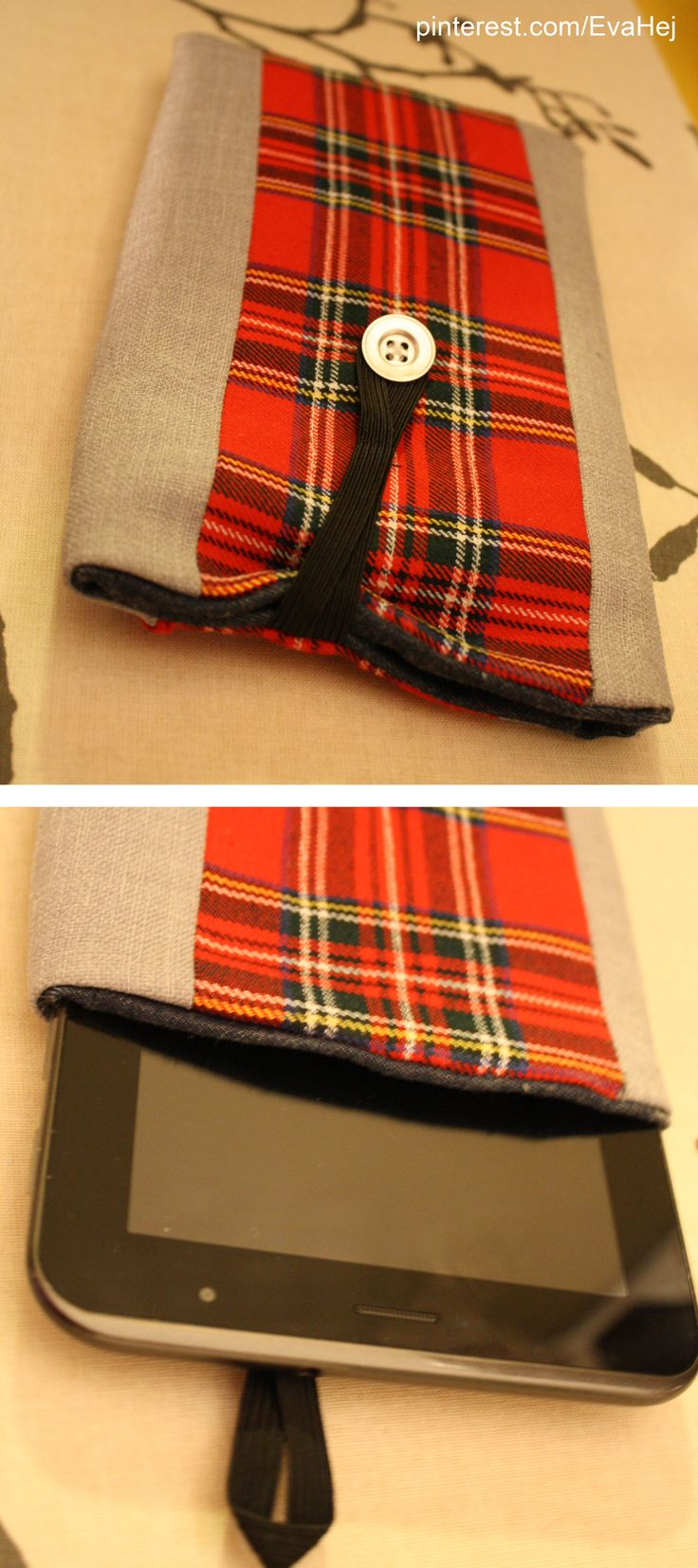 Fabric case for a 7 inch tab