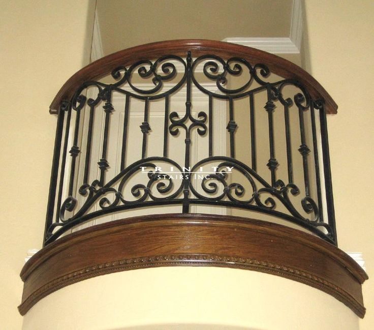 ornamental iron work | Wrought Iron Balconies Gallery - Wrought Iron Balcony B5