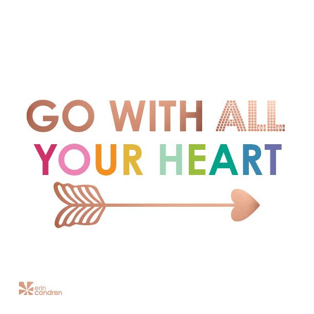 Trust where it will take you! #ECquotes #quotes #ErinCondren