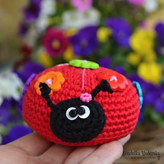 17 best ideas about Crochet Ladybug on Pinterest ...