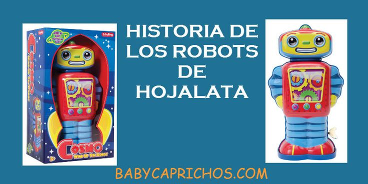 Buenos días, sobre todo a los madrugadores como yo!! Tenemos un #post sobre la historia de los robots de hojalata.  #ideaspararegalar #jugueteclasico #juguetesdemetal http://www.babycaprichos.com/blog/robots-de-juguete/