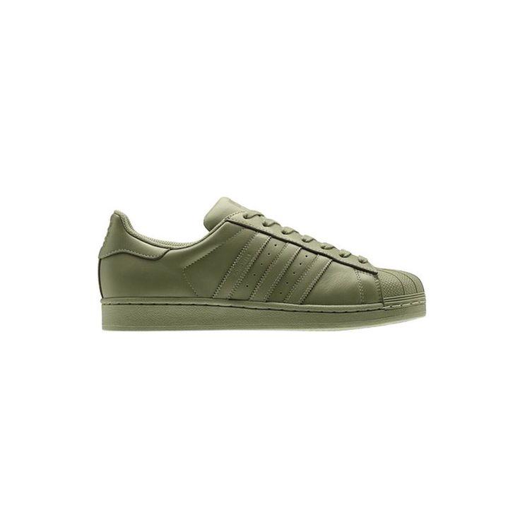 Pharrell x Adidas Originals Supercolor - Olive Green Superstar