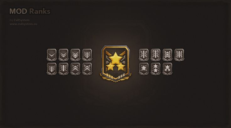 Mod Ranks by Evil-S.deviantart.com on @deviantART