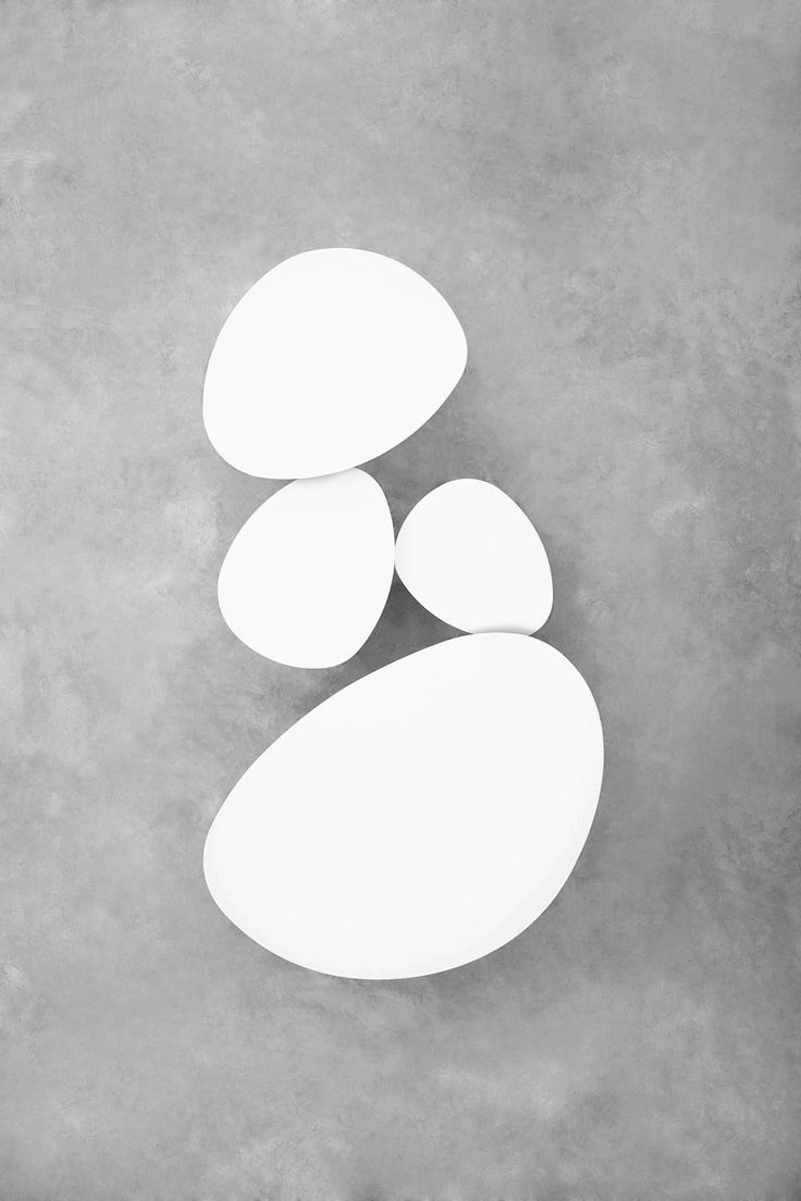"""STUA Eclipse nesting tables have their name because they conceal one below another, just like in the natural Eclipse. Another name that was strong during the naming process was """"stones"""",... says Jon Gasca designer. ECLIPSE: www.stua.com/design/eclipse"""