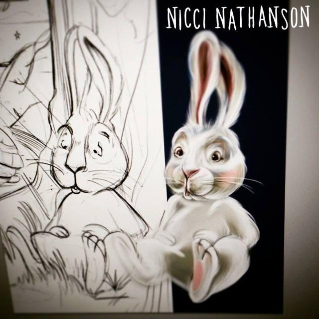 Bunny illustration by Nicci Nathanson www.niccinathanson.com
