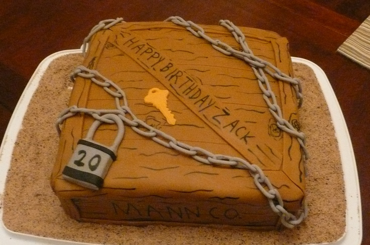 Team Fortress 2 Cake