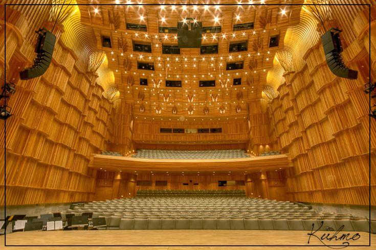 Kuhmo-talo - Kuhmo Center for Arts, built 1993. The home of fantastic Kuhmo Chamber Music Festival every July.