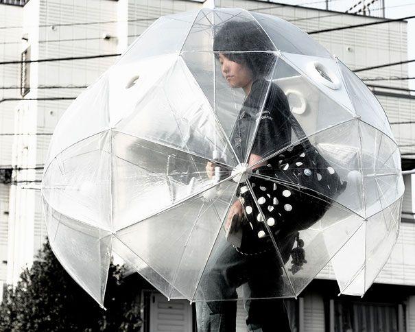 19 parapluies design qui rendent la pluie marrante   19 parapluies design corps