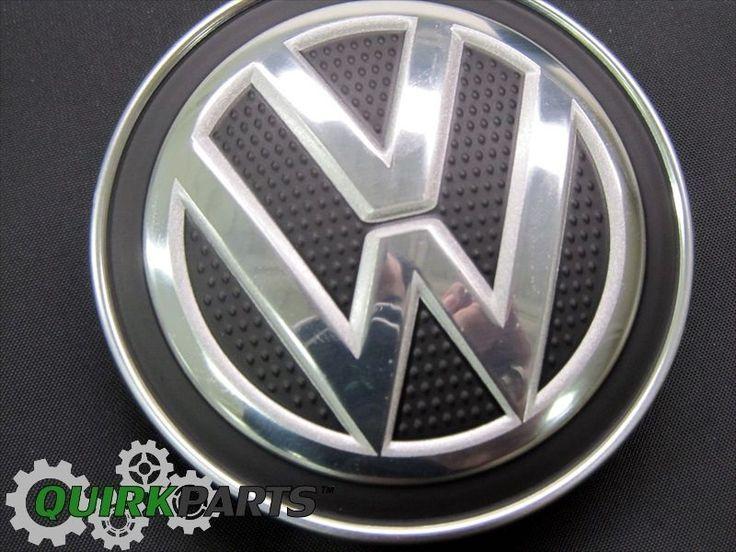 ONE NEW OEM 2015-2017 VW Volkswagen Golf GTI MK7 Carbon Fiber Wheel Center Cap #Volkswagen