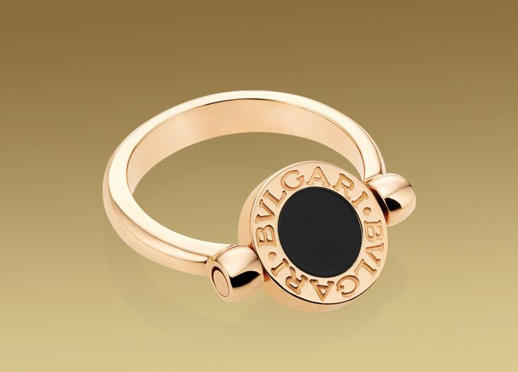 solo puedo suspirar bulgari bulgari ring in 18 kt pink gold with mother of pearl and onyx