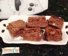 ThermoFun - Cadbury Top Deck Chocolate Slice Recipe - ThermoFun | making decadent food at home |
