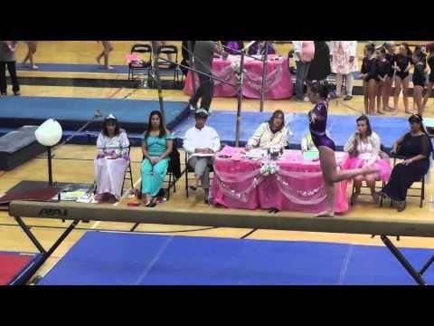 Level 4 (new) Gymnastics 1st Place All Around (38.35) 2013