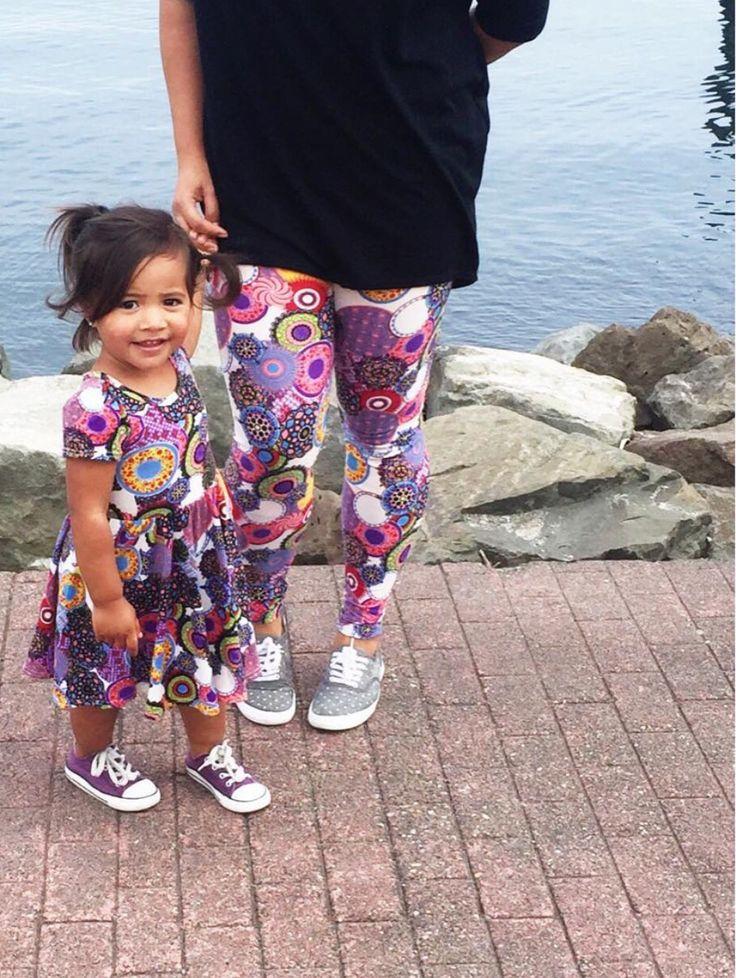 Mommy and Me leggings and DDS Lucy #TrinityLuLaRoe #LuLaRoeJaimeThomas