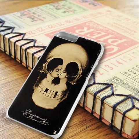 Kissing Skull iPhone 6 Plus|iPhone 6S Plus Case