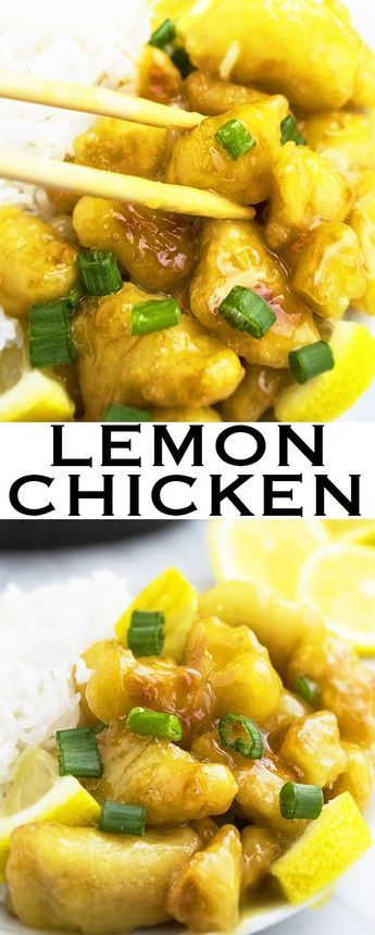 This quick and easy CHINESE LEMON CHICKEN recipe requires simple ingredients. It's sweet and tangy with Oriental flavors. This Asian lemon chicken is cheaper than Chinese takeout too. From http://cakewhiz.com
