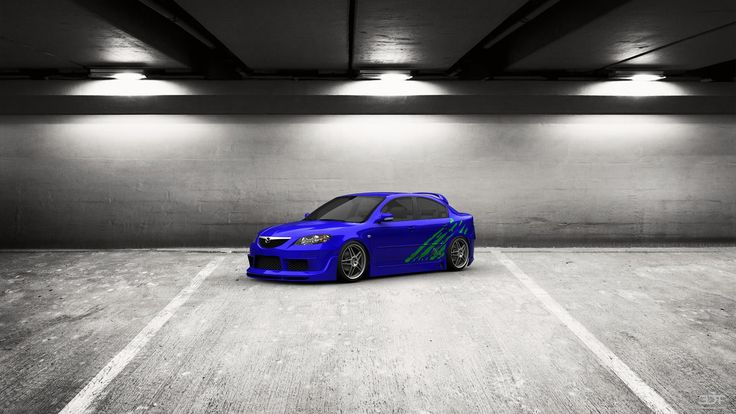 Come ti sembra il mio tuning #Mazda 3 2004 in 3DTuning #3dtuning #tuning