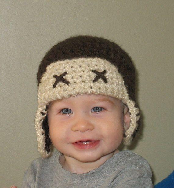 Aviator Hat Newborn Aviator Hat Boys Aviator by DeesCozyCreations