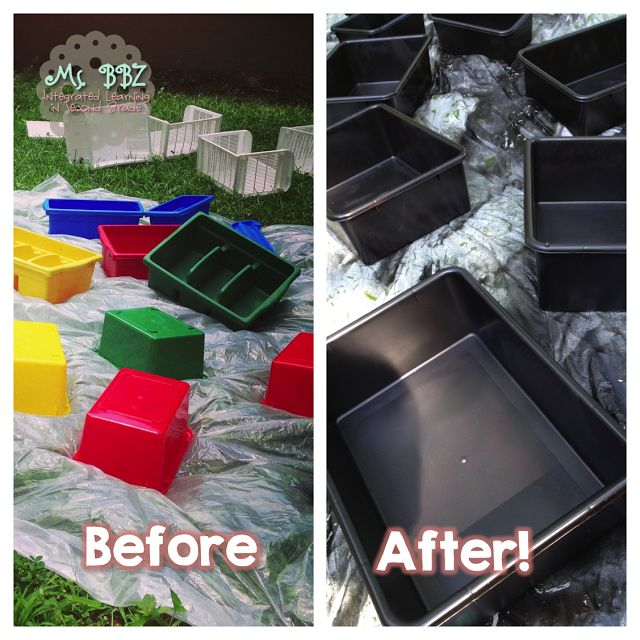 """I am SO doing this!!! Super excited! (Spray painting isn't included in my """"no more paint"""" rule.)"""