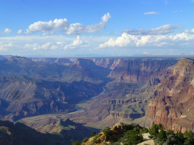 Moon? No, Grand Canyon. AZ