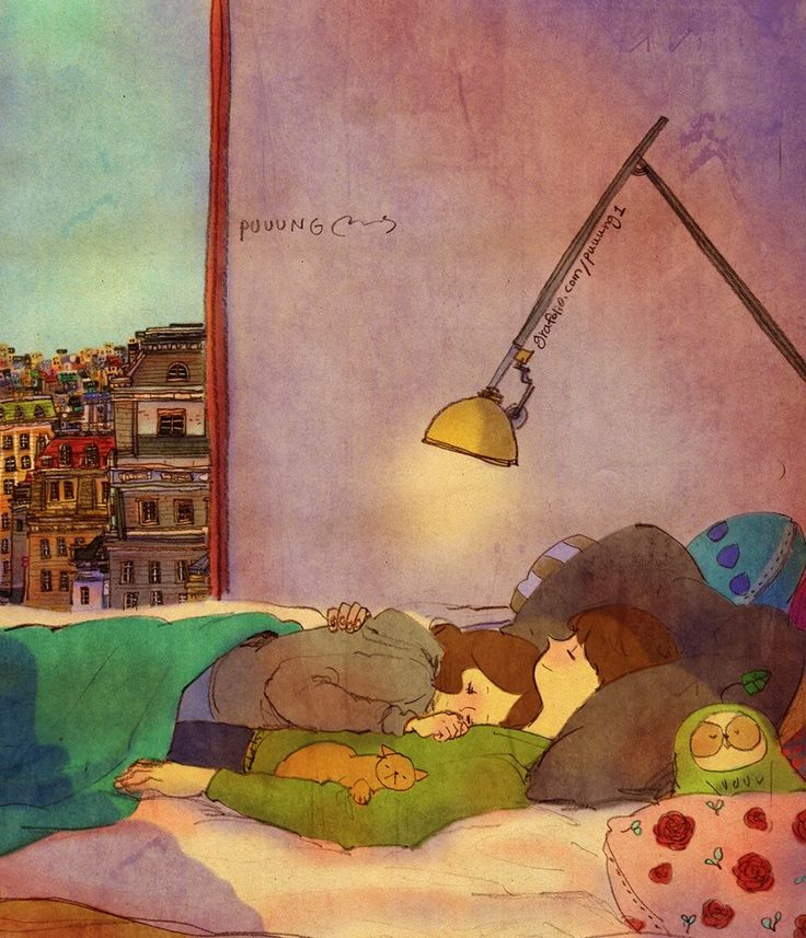 ♥ BEST TIME EVER ~ I love falling to sleep to the sound of your heartbeat. ♥ by Puuung ♥