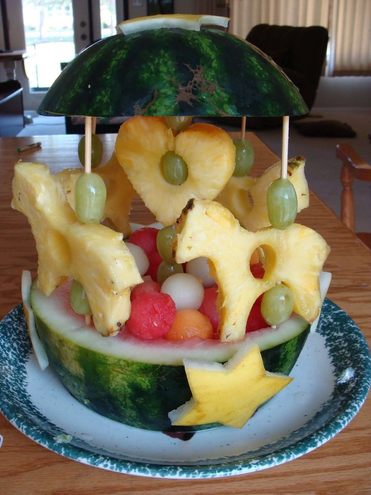 Best fruit carving images on pinterest carvings