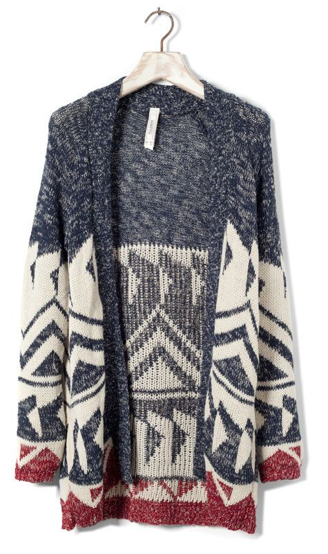 Big sweater for those: I want to be as comfy as possible, but still look cute.
