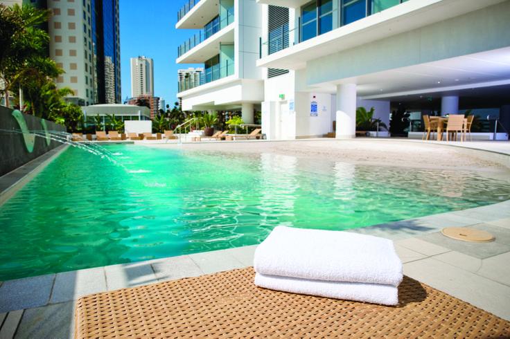 Ground floor pool   Wyndham Surfers Paradise, Gold Coast, Queensland, Australia.