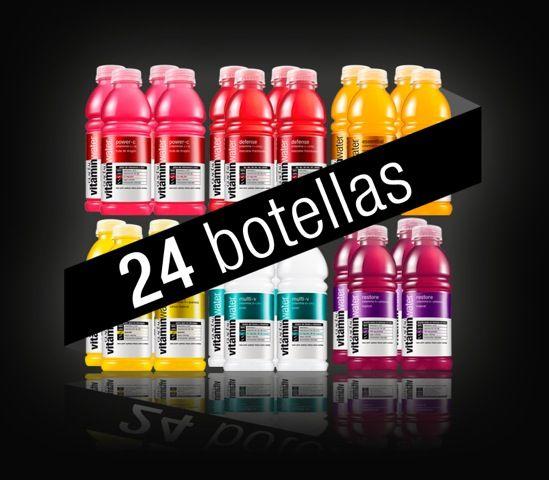 pack de 24 botellas vitaminwater