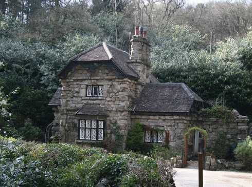 Stone Cottage In The Woods