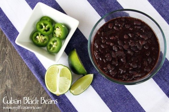 Cuban Black Beans from Scratch {www.mylifeasamrs.com}