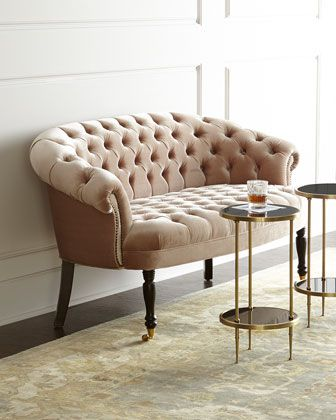 Sausalito Settee by Haute House at Neiman Marcus.