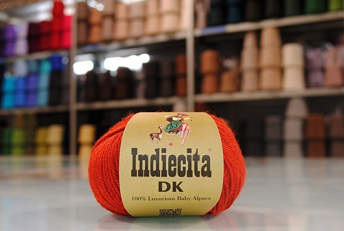 Indiecita DK 100% Luxurious Baby Alpaca