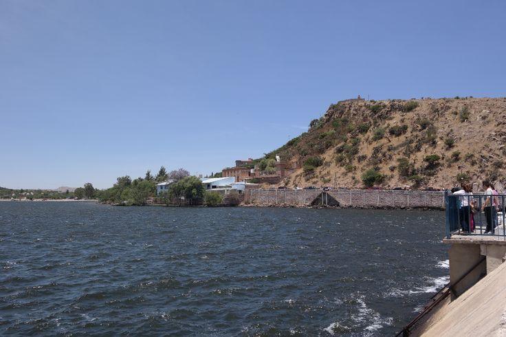 Vista de la Presa de Mexquitic de Carmona, SLP